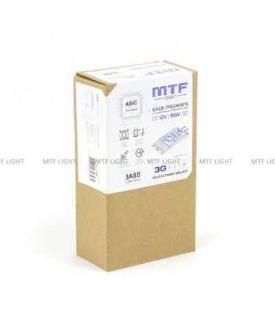 Блок розжига MTF Light 12V 35W  CAN-BUS 3G Slim	, , 2600.0000, 3A88, MTF Light, [category_name]