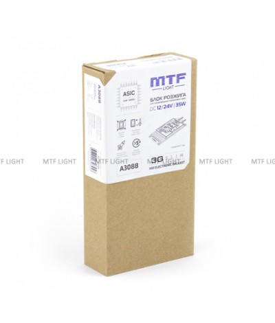 Блок розжига MTF Light 12V/24V 35W 3G Slim, , 2450.0000, A3088, MTF Light, [category_name]