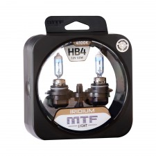 Комплект галогенных ламп MTF Light Iridium HB4 12V 55W, , 950 руб., HRD12B4, MTF Light, Галогеновый свет
