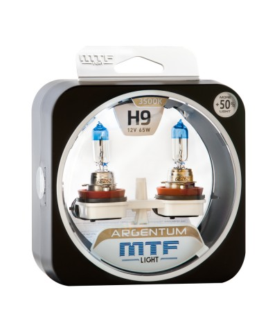 Комплект галогенных ламп MTF Light Н9 35W Argentum+50%, , 1050.0000, H5A1209, MTF Light, [category_name]